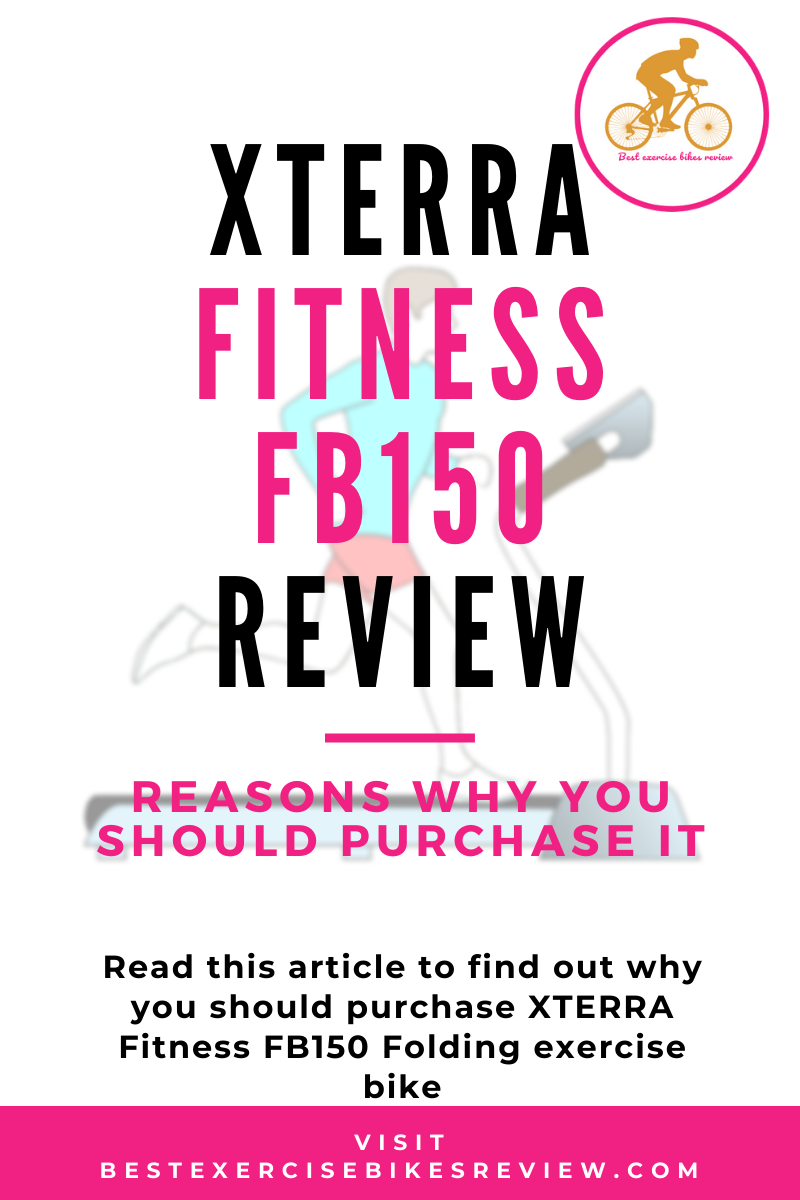 XTERRA Fitness FB150 Folding Exercise Bike Review